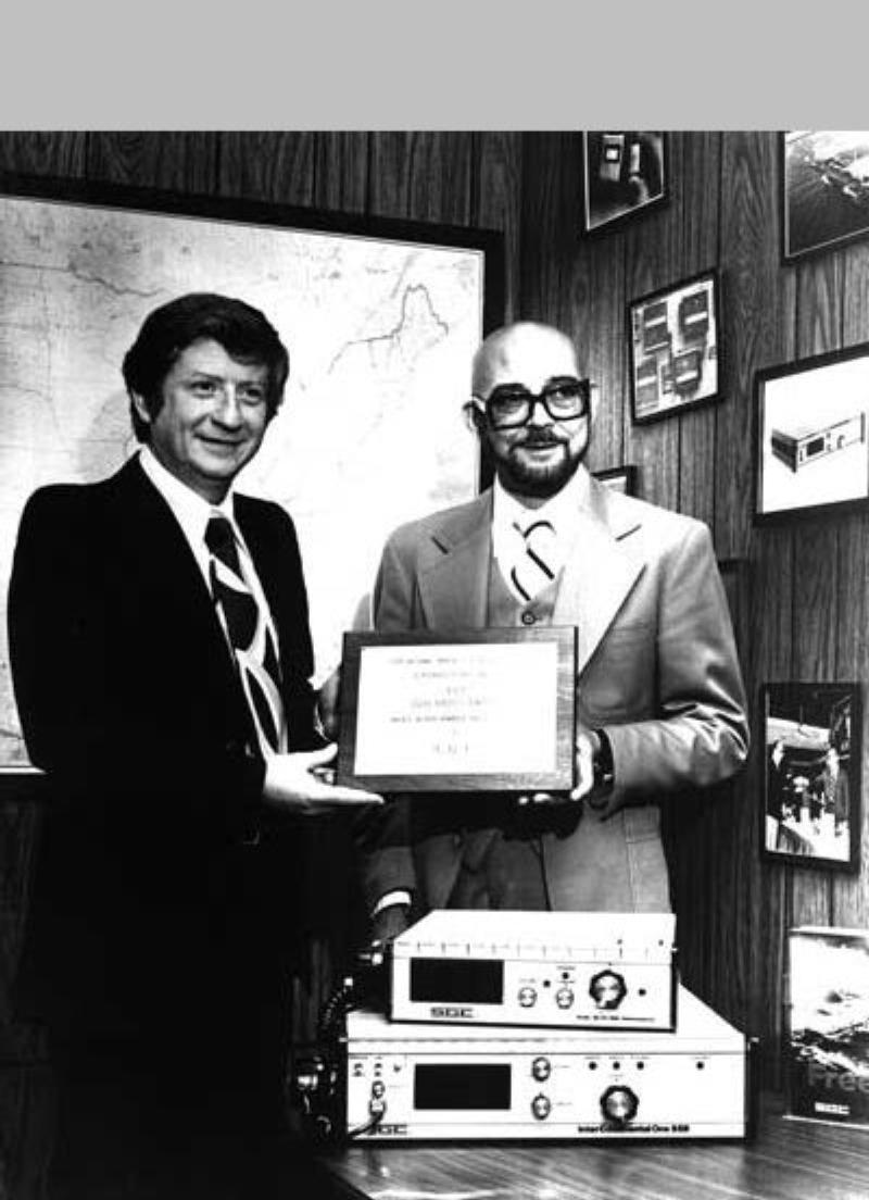 Pierre Goral and Don Stoner in the early days of SGC