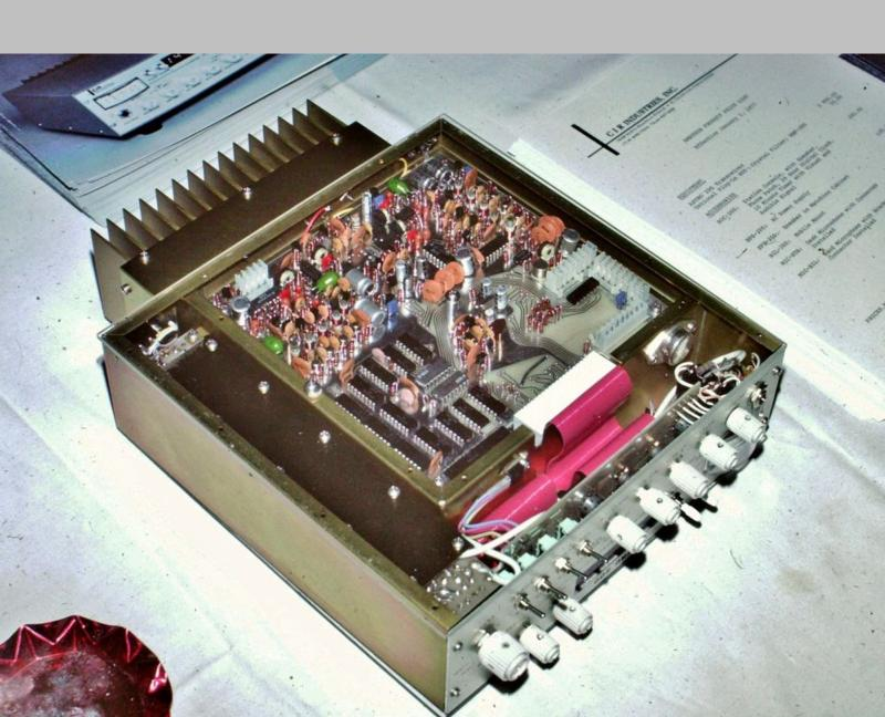 Astro 200 at Hamvention 1976,  showing the synthesizer board