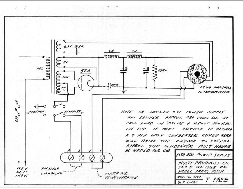 Schematic (from A54 manual)