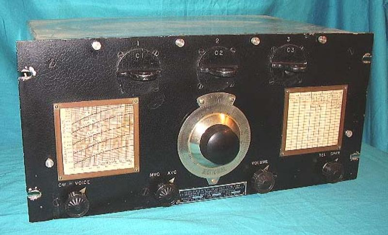 National RHM receiver, designed for the Lighthouse Service in 1932