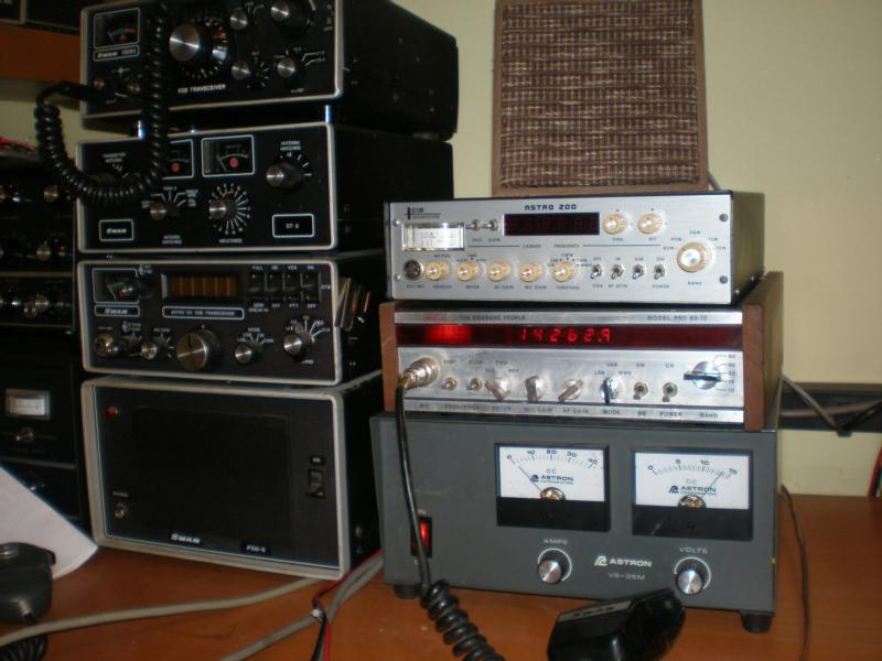 Three implementations of Stoner's PLL synthesized transceiver