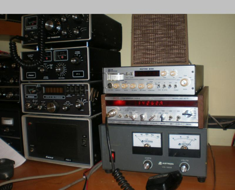 Three radios that share Stoner's core PLL synthesizer