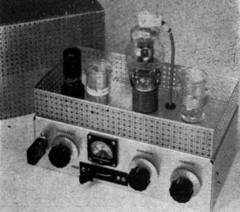 1961 Homewbrew Transmitter
