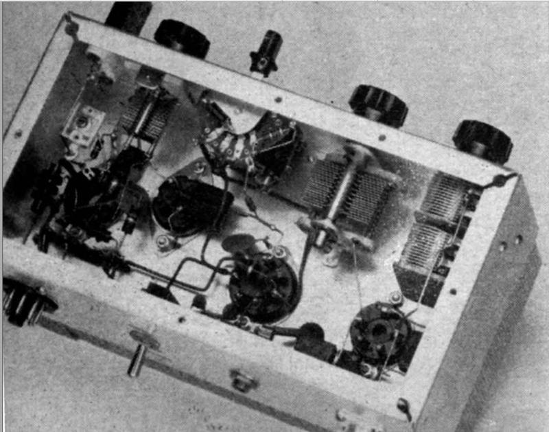 1961 Homebrew transmitter wiring