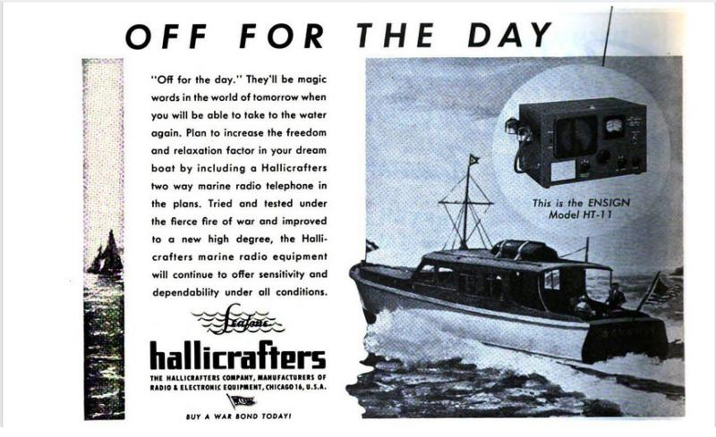 Competitor:  Hallicrafters Ensign HT-11