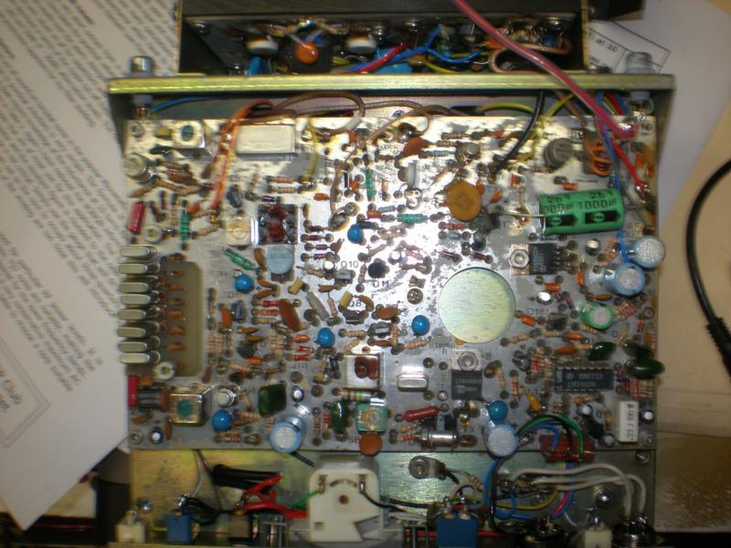 Top view of main PCB