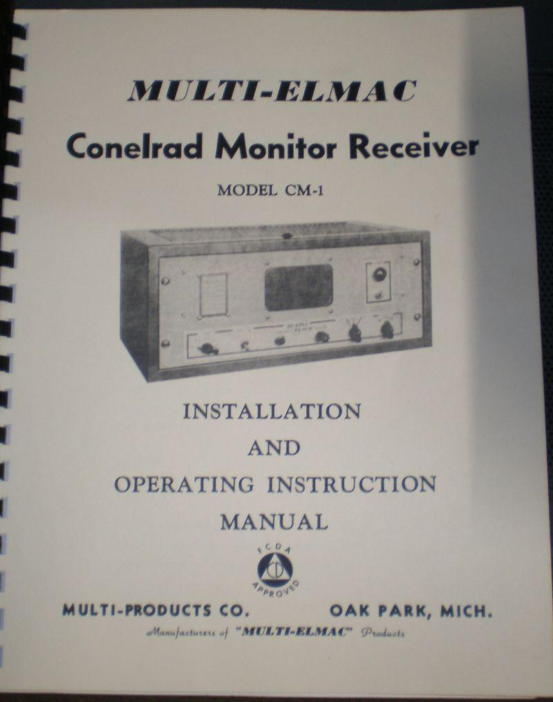 Multi Products manual