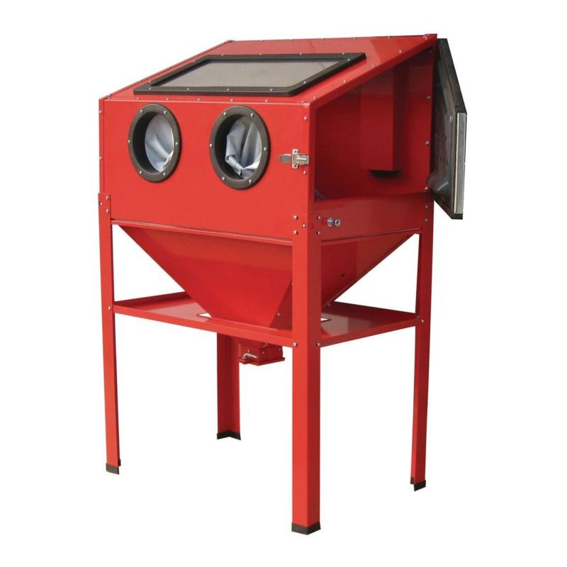 Typical blast cabinet (Harbor Freight)