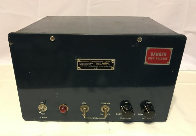 AM-1415/UNS-1 Air Raid Detection Amplifier