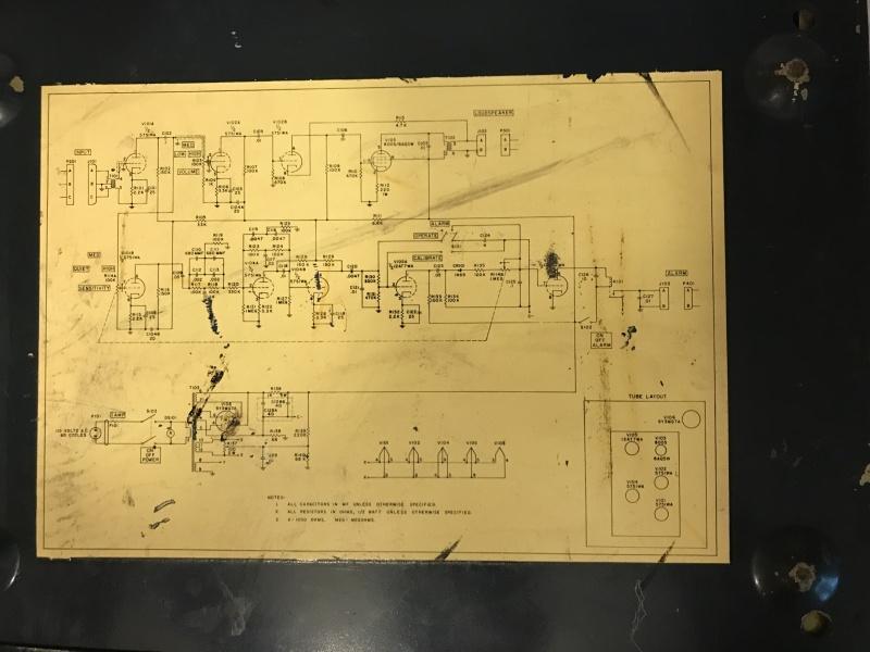 Air raid amp schematic