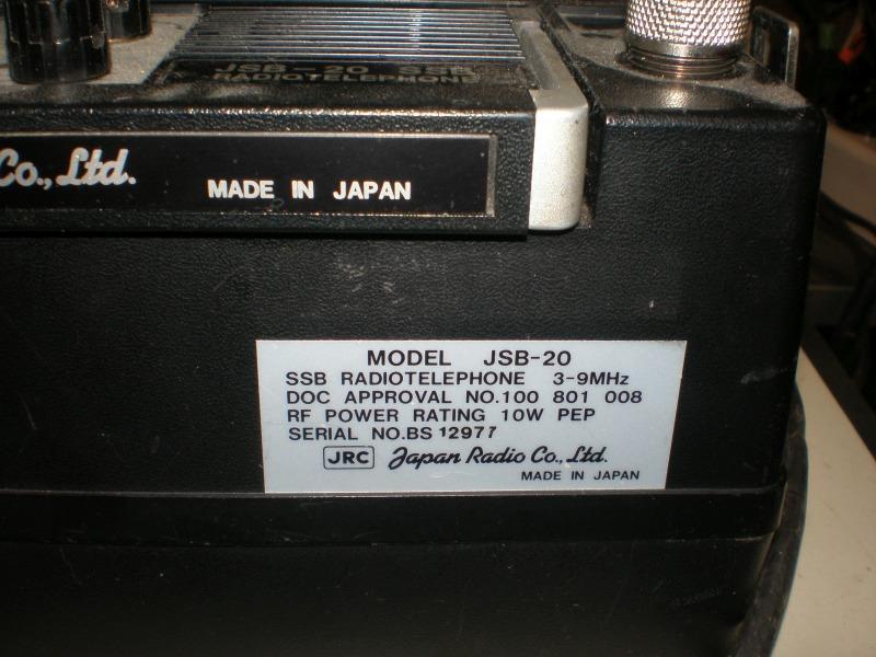 10 watt PEP output from internal batteries