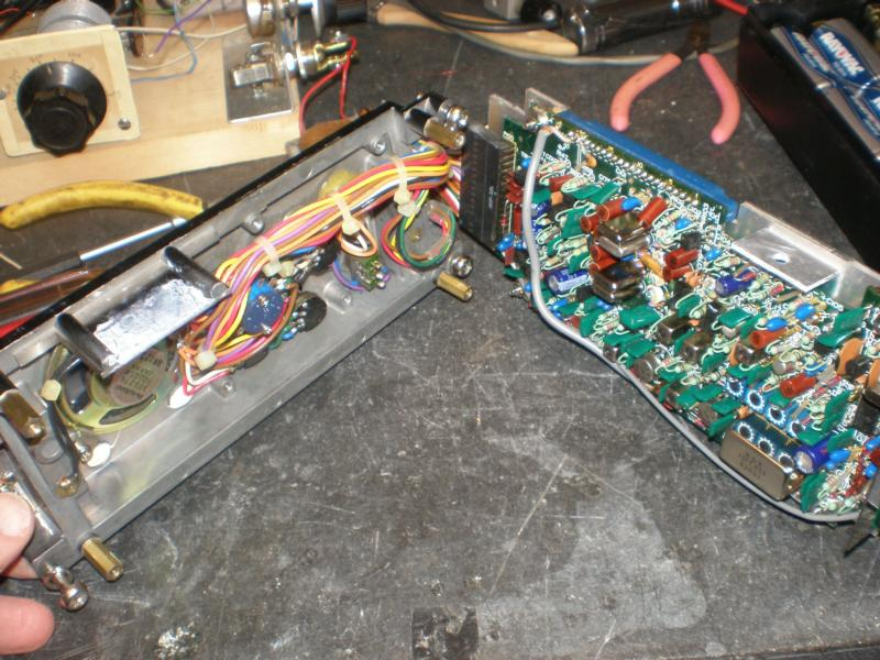 Front panel and main board