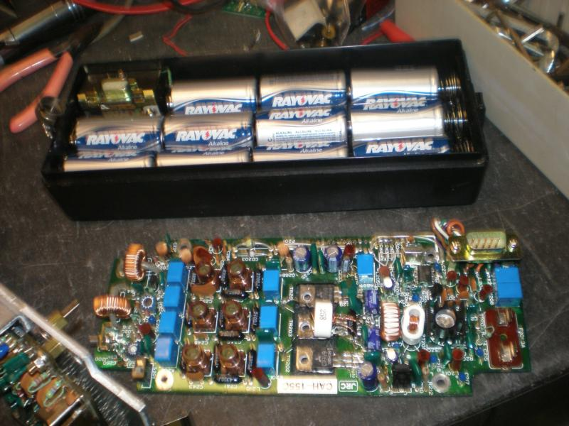 RF board and battery pack base