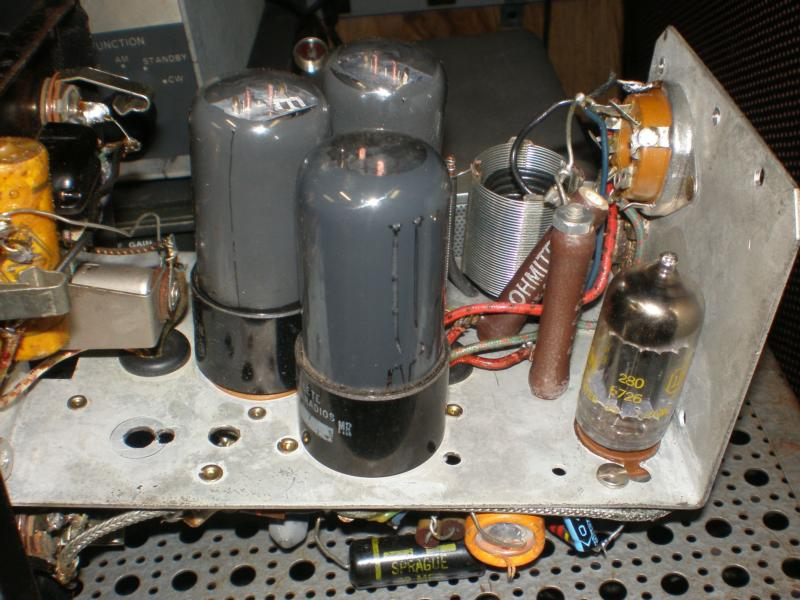 Added speech amp tube