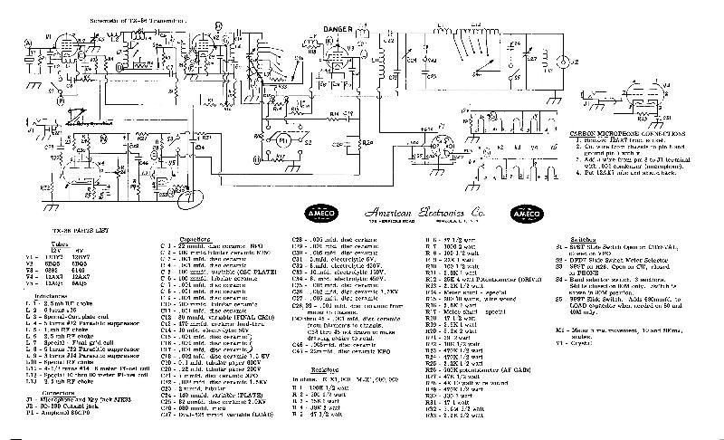 TX-86 schematic