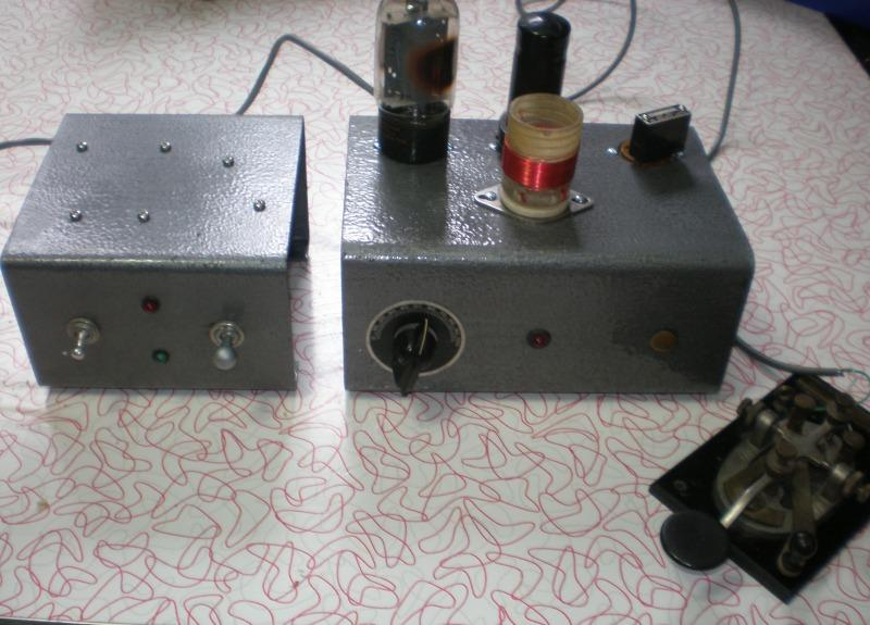 6AG7-6L6 transmitter and p/s