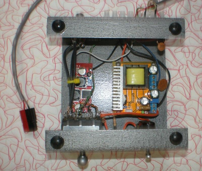 Power supply DC-DC converters and T/R switch