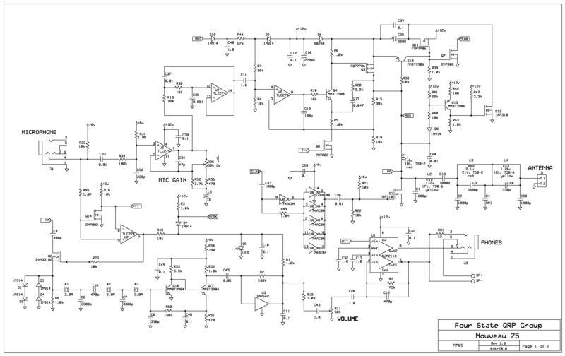 Nouveau 75 schematic (original TA-7642 design)