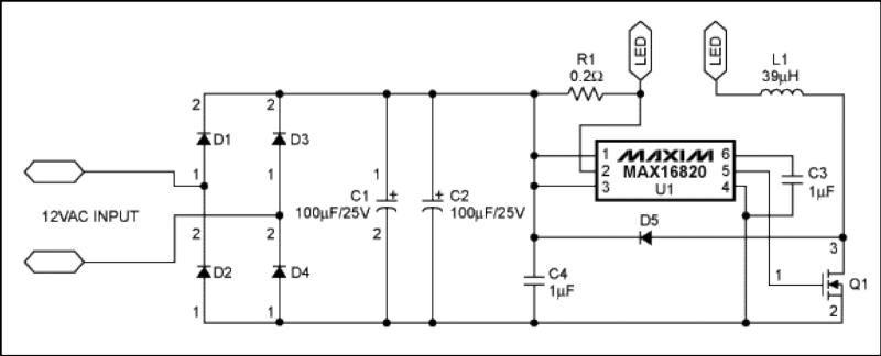 Maxim reference circuit