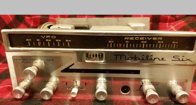 Unit #2 with the factory dial and original mic connector