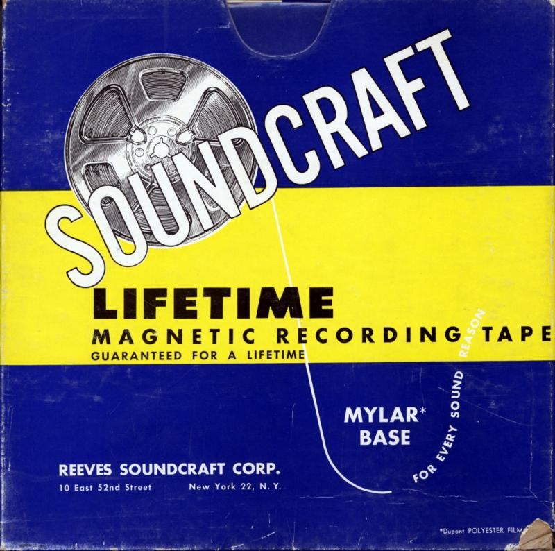 Reeves Soundcraft recording tape