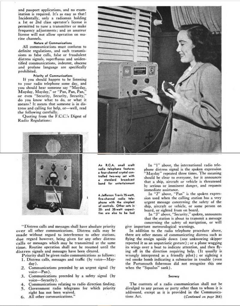 Marine radiotelephone article page 2