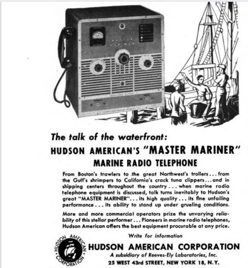 Master Mariner ad